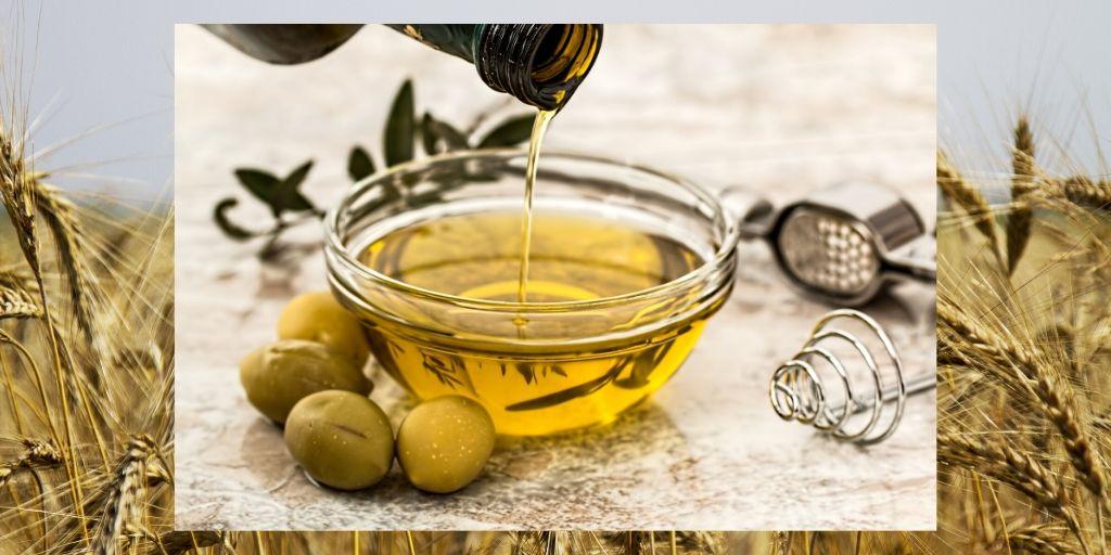 Liquid gold! olive oil bowl