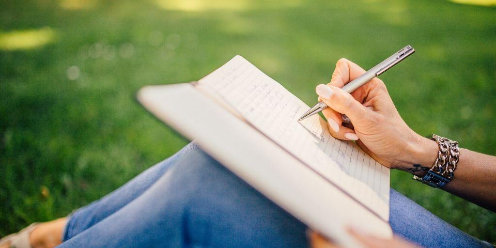 Door te schrijven denk je net iets meer na over je plannen