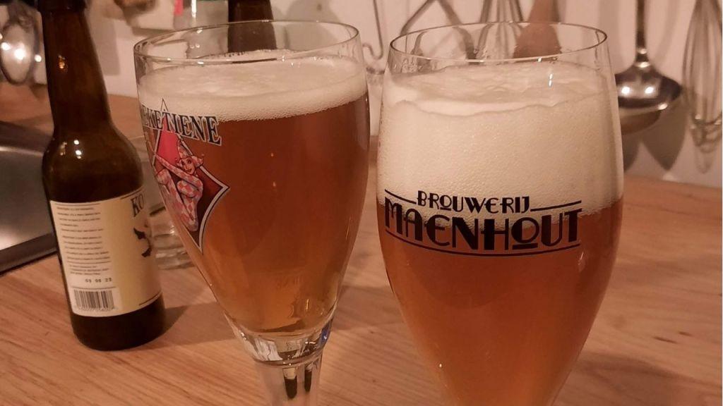 brouwerij Maenhout Koeketiene beer in glass